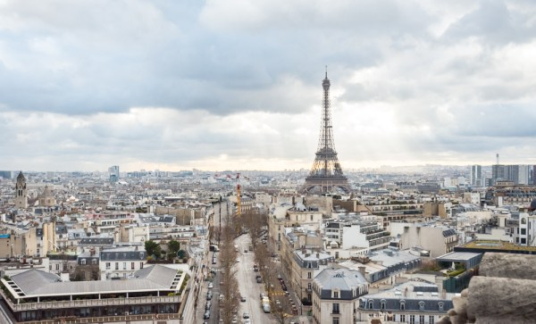 Skyline of Paris, France by Wandering Wheatleys