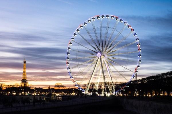 Ferris Wheel at the Tuileries Garden, Paris, France by Wandering Wheatleys