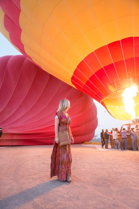 Hot Air Balloons in Luxor, Egypt
