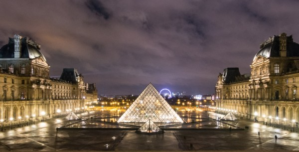 Louvre Museum, Paris, France by Wandering Wheatleys