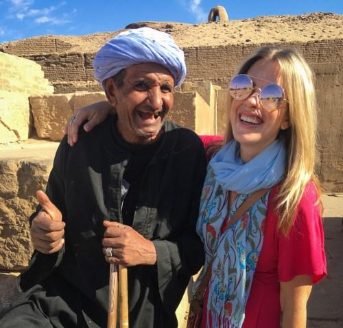 Old man in Egypt by Wandering Wheatleys