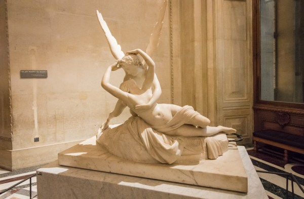 Psyche Revived by Cupid's Kiss, Louvre Museum, Paris, France by Wandering Wheatleys