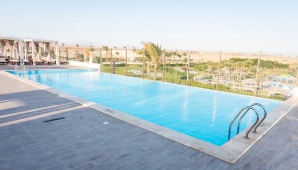 Rooftop pool at Jaz Aquaviva, Makadi, Egypt by Wandering Wheatleys