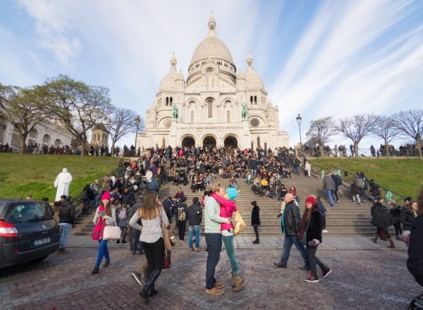 Basilica Sacré-Cœur of Montmartre, Paris, France by Wandering Wheatleys