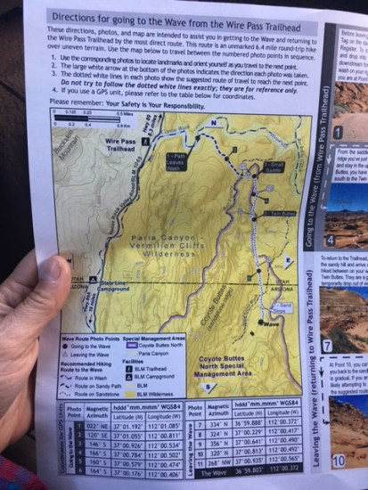 Directions to hike to The Wave - Part 2 by Wandering Wheatleys