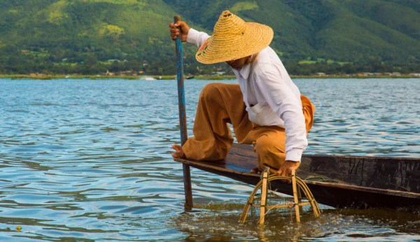 Fishing in Inle Lake, Myanmar by Wandering Wheatleys