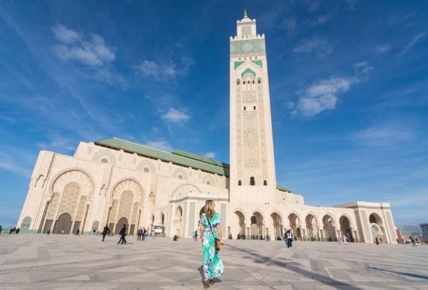 Hassan II Mosque, Casablanca, Morocco by Wandering Wheatleys