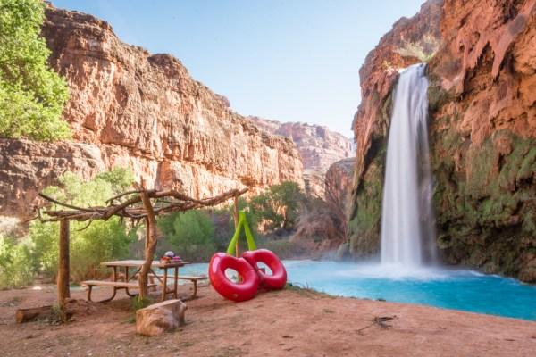 Havasu Falls, Arizona by Wandering Wheatleys