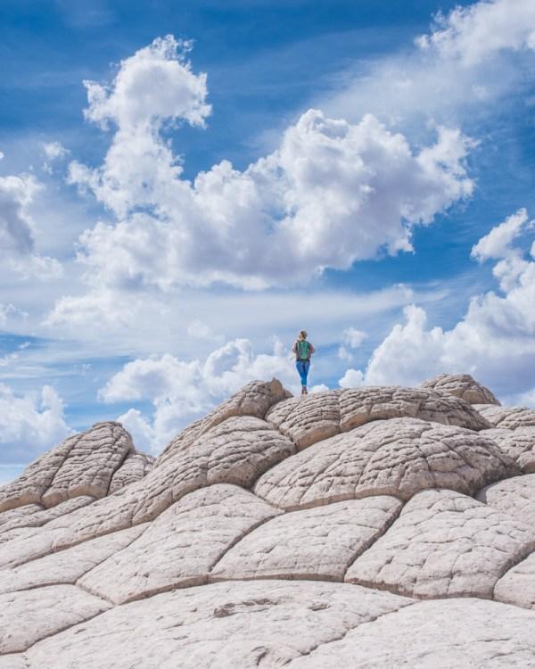Sandstone formations in White Pocket, Arizona by Wandering Wheatleys