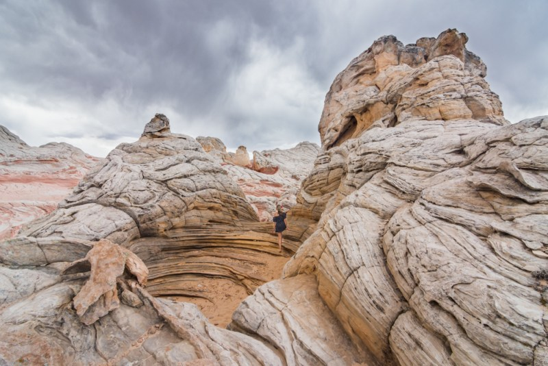 Sandstone formations in White Pocket, Arizona by Wandering Wheatleys
