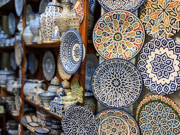 Ceramics in the Medina, Fes, Morocco by Wandering Wheatleys