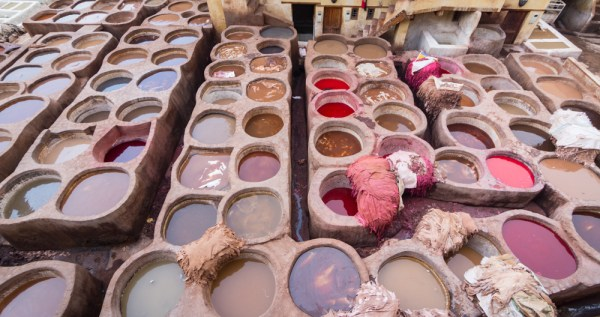 Chouara Tanneries, Fes, Morocco by Wandering Wheatleys