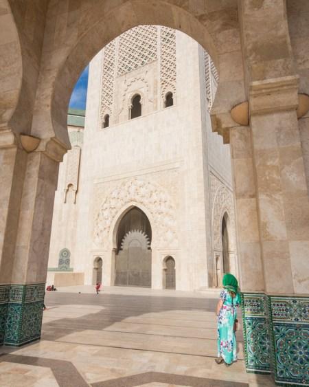 Hassan II Mosque in Casablanca, Morocco by Wandering Wheatleys