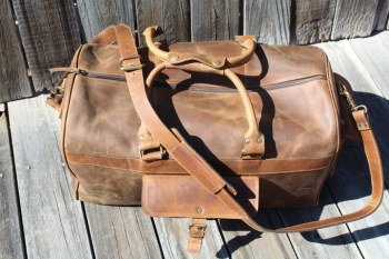 Kodiak Leather Duffel Bag