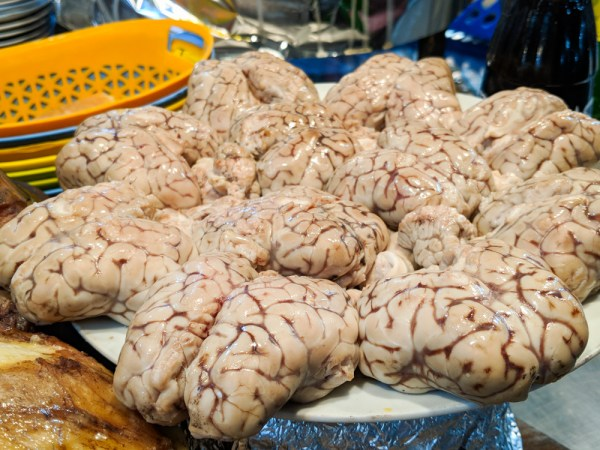 What to east in Morocco: Sheep's Brain by Wandering Wheatleys