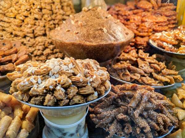Moroccan sweets, Fes, Morocco by Wandering Wheatleys
