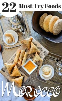 Must Try Foods in Morocco by Wandering Wheatleys