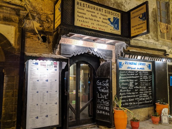 Restaurant Sorocco, Essaouira, Morocco by Wandering Wheatleys