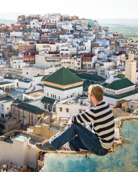 View from the Grand Terrace, Moulay Idriss, Morocco by Wandering Wheatleys