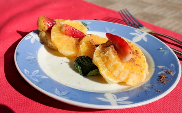 What to Eat in Morocco: Cinnamon Oranges by Wandering Wheatleys