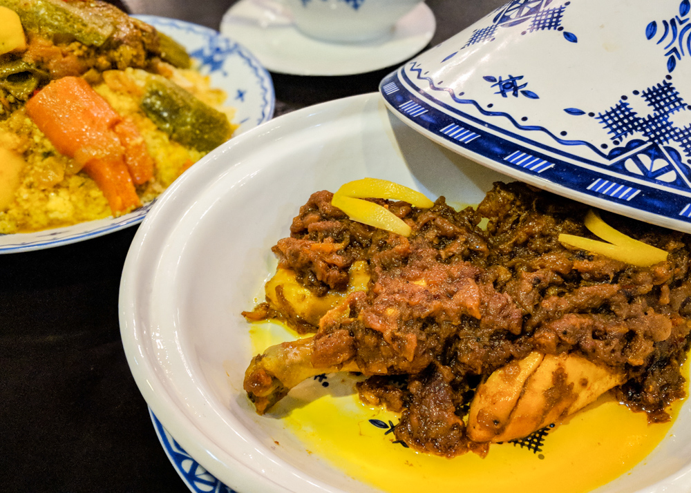What to Eat in Morocco: Chicken Tajine with Lemon and Olives by Wandering Wheatleys