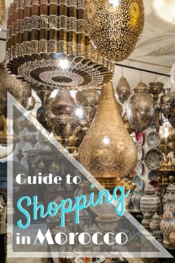 Guide to Shopping in Morocco by Wandering Wheatleys