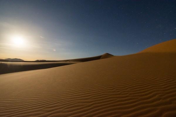 Night in the Sahara Desert, Merzouga, Morocco by Wandering Wheatleys