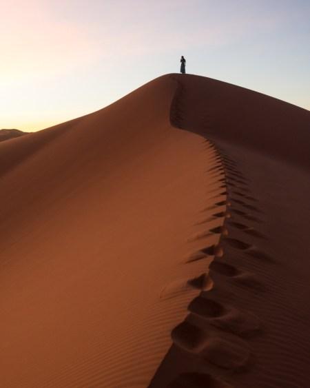Sunrise in the Sahara Desert, Merzouga, Morocco by Wandering Wheatleys