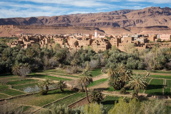 Valley near Todra Gorges, Morocco by Wandering Wheatleys