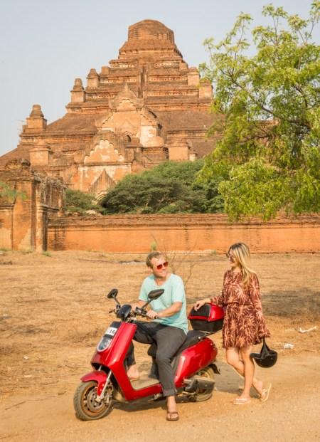 Electric Bike, Bagan, Myanmar