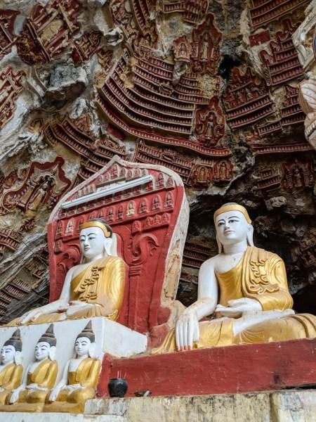 Kawgon Cave, Hpa-an, Myanmar