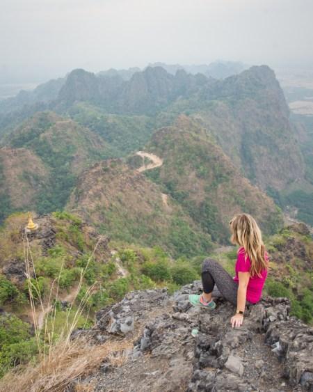 Mount Zwegabin Hpa-an, Myanmar
