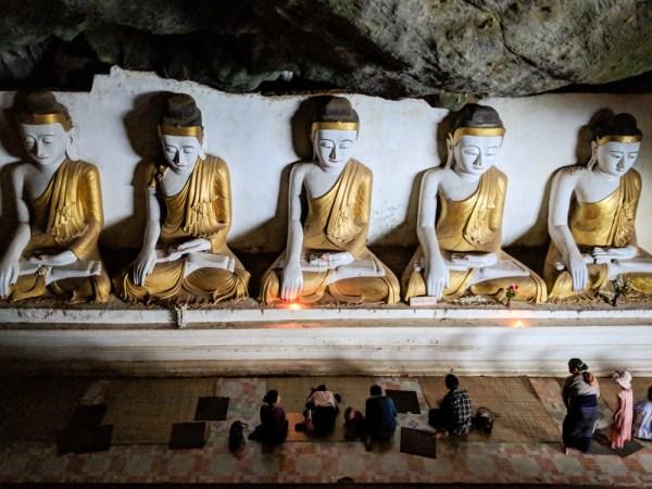 Yatae Pyan Cave, Hpa-an, Myanmar