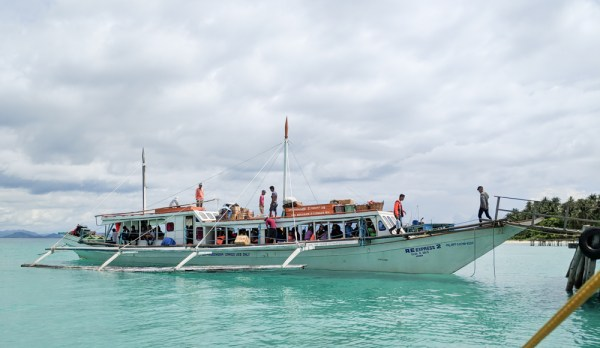 Passenger Boat from Rio Tuba to Balabac