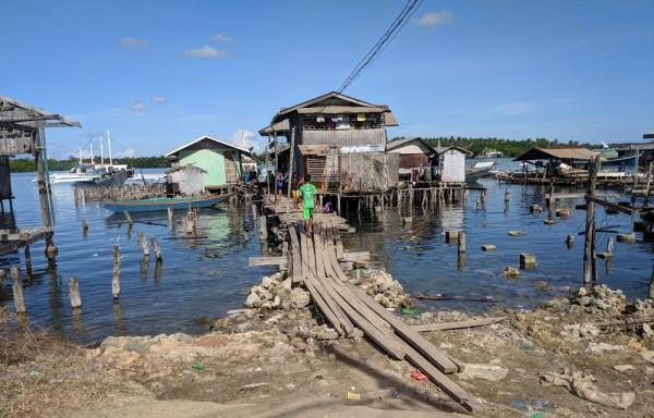 Boat Pier, Rio Tube, Philippines