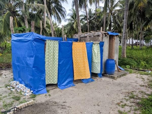 Showers at Balabac Island Safari