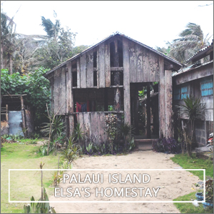 Homestay in Palaui Island - Punta Verde Accommodation