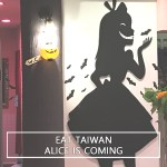 Eat Taiwan: Alice is Coming, a themed cafe.