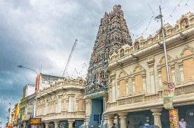 Top Attractions in Penang Walk of Harmony : Sri Mahamariamman Temple