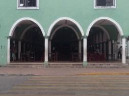 The market in Valladolid.