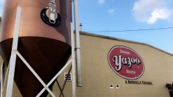 Yazoo Brewery. This was our first stop on the Pedal Party. Great beer!