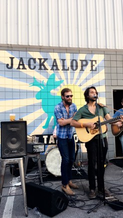 Live music happenings at Jackalope Brewing Co.