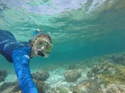 Me and my sea turtle friend