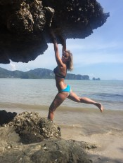 Just monkeying around while exploring Ao Nang Beach