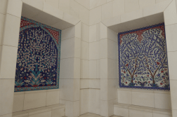 The tiles that are hidden in every corner exude beauty and intricate details!