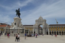 The city center of Lisbon!