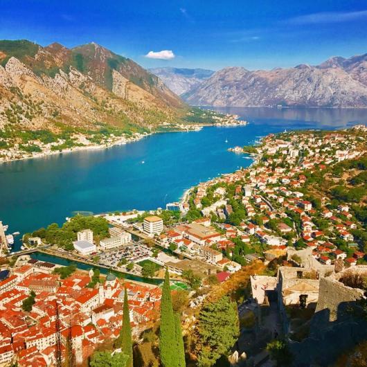 Montenegro - Kotor balcony view