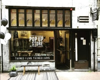 Nieuw geopend: Pop-Up Store Things I Like Things I Love