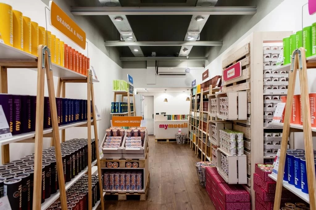 mymuesli store Utrecht
