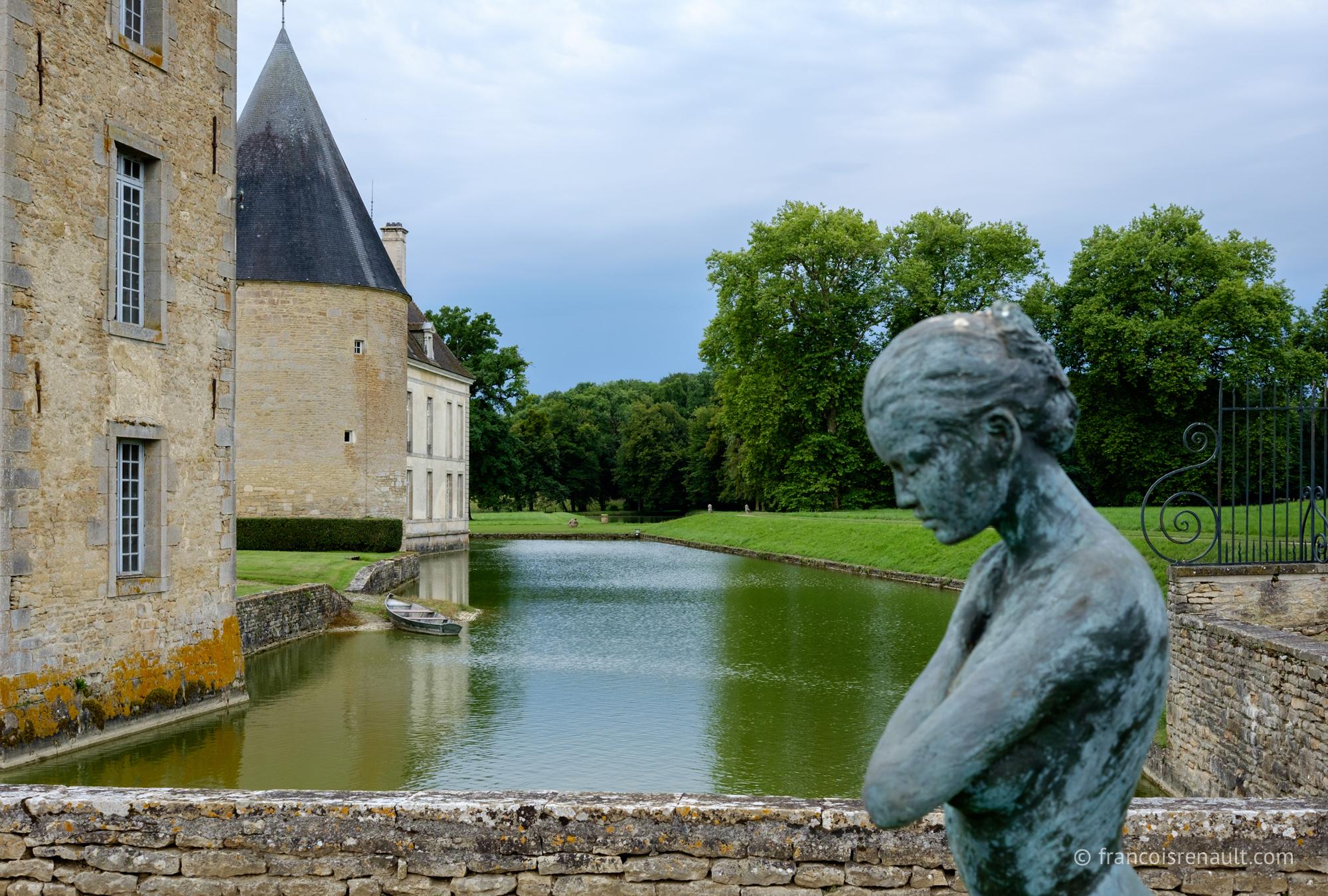 Château de Commarin,Bourgogne, France.